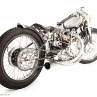 Black Falcon Photographs, Motorcycle Unveiled In Carmel