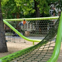 Sculptural Playground in Wiesbaden, Germany by ANNABAU