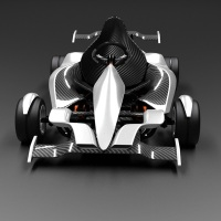 GK2G: A Formula One-Inspired FOLDABLE Go-Kart that goes 60 mph!
