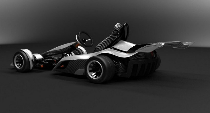 Kids Electric Cars >> GK2G: A Formula One-Inspired FOLDABLE Go-Kart that goes 60 mph! | blurppy
