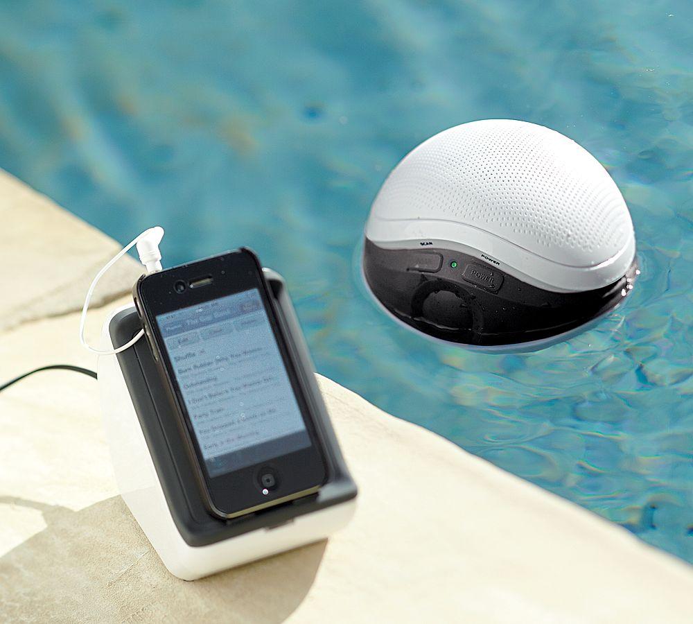 Audio Unlimited 900MHz Wireless Floating Pool Speaker   blurppy