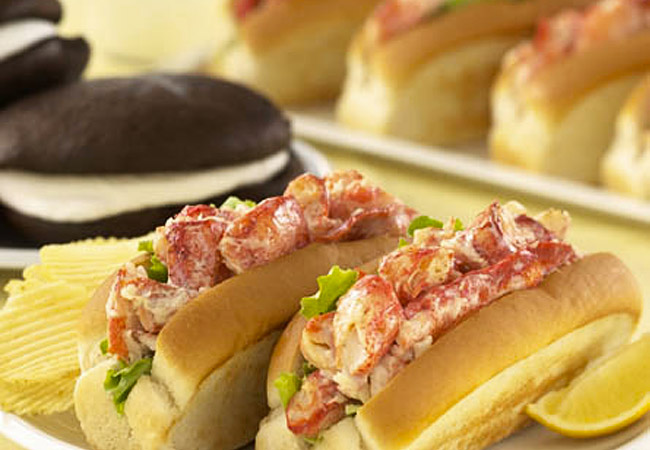 Hancock Gourmet Lobster Co. Downeast Lobster Rolls ...