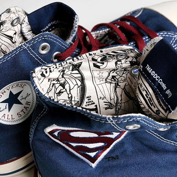 fc42d11c124 Superman x CONVERSE Chuck Taylor All Star