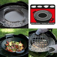 The Weber Original Gourmet BBQ System