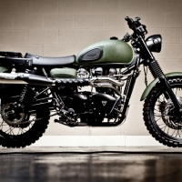 Motorcycle: 2010 Triumph Scrambler