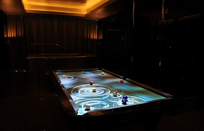 ... System Reveals Images And Animations That Follow The Movements Of The  Pool Balls As Players Hit Them Around The Table. You Supply The Pool Table  And ...
