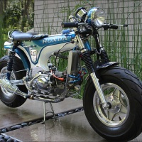 1977 Honda CT70 Dax - The Lil Badass....