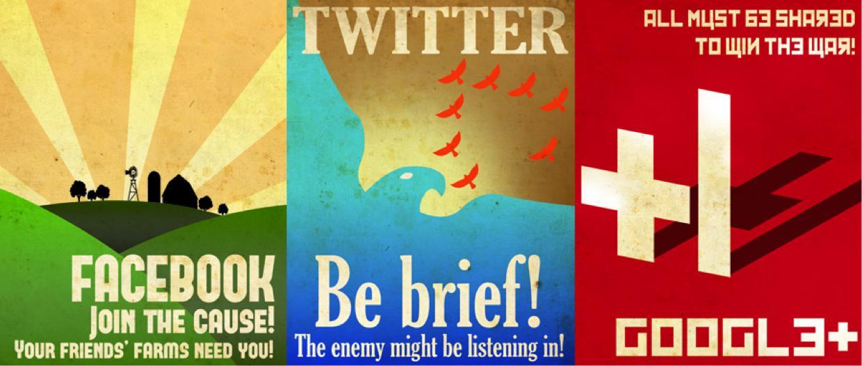 Propaganda Examples Todays Media Retro/ Vintage Social ...