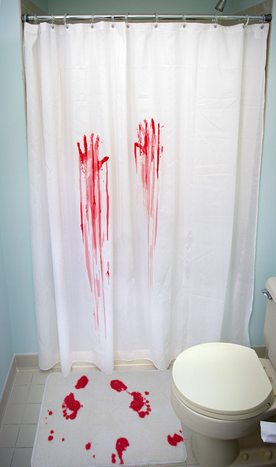 Psycho Decor For Your Bathroom