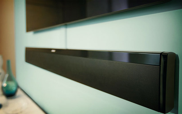bose unveils lifestyle 135 cinemate 1 sr soundbar systems. Black Bedroom Furniture Sets. Home Design Ideas