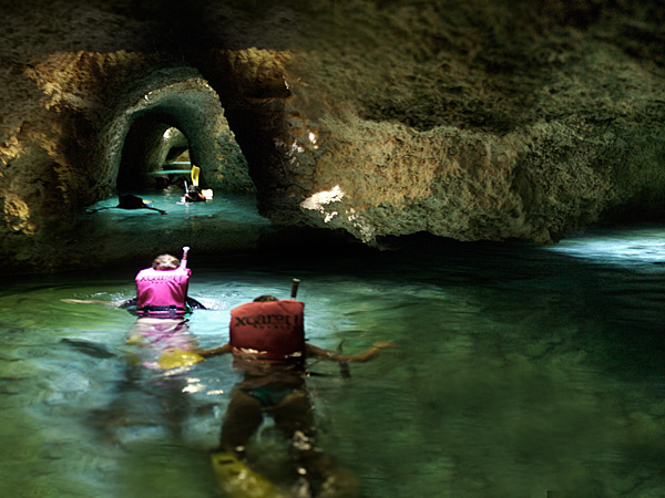 Discover The Amazing Underground Rivers At Xcaret In Mayan