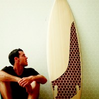 Honeycomb Surfboard By Mike Grobelny