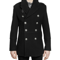 Philipp Plein Wool Cloth Double Breasted Sport Jacket