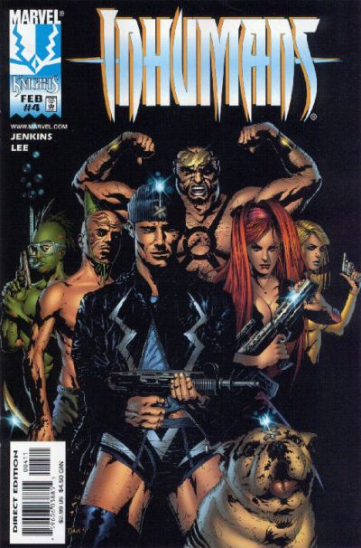 eb25af5f71b The Inhumans  Millions of years ago the alien species Kree started  experimenting on early humans looking to build a race of super soldiers  they could use to ...