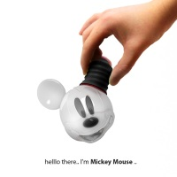 Mickey Mouse Light Bulb Concept