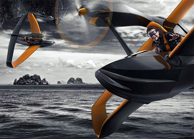 jet ski flying machine