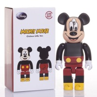 CLOT x Medicom Toy x Disney 3 Eyed Mickey Mouse Bearbrick