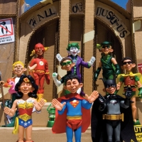 "MAD Magazine X DC Comics = ""Just-Us League of Stupid Heroes"" Action Figures"