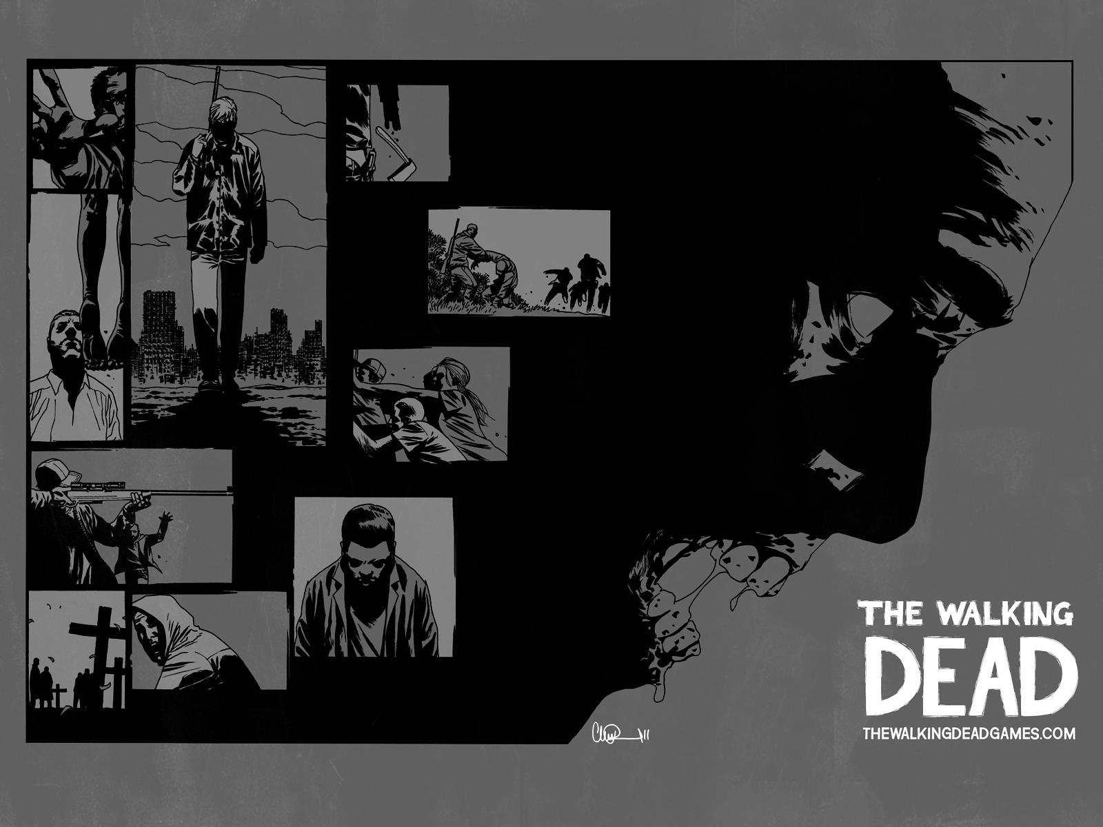 The Walking Dead Comic Character Wallpaper of The Walking Dead as