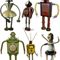 Ultra Cool Hand-Made Robots By Bennett Robot Works