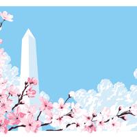 "New Tracie Ching Prints: ""Sakura 1 & 2"""