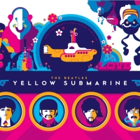 Dark Hall Mansion & Tom Whalen Reveal The Beatles Yellow Submarine Variants
