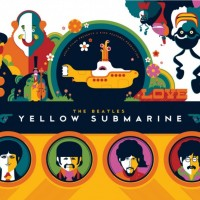 Dark Hall Mansion Presents The First Ever Officially Licensed Beatles Yellow Submarine Art Print Folios