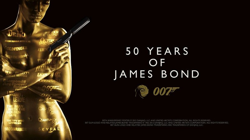 CELEBRATE 50 YEARS OF 007 WITH THE EXPLOSIVE GOLDEN