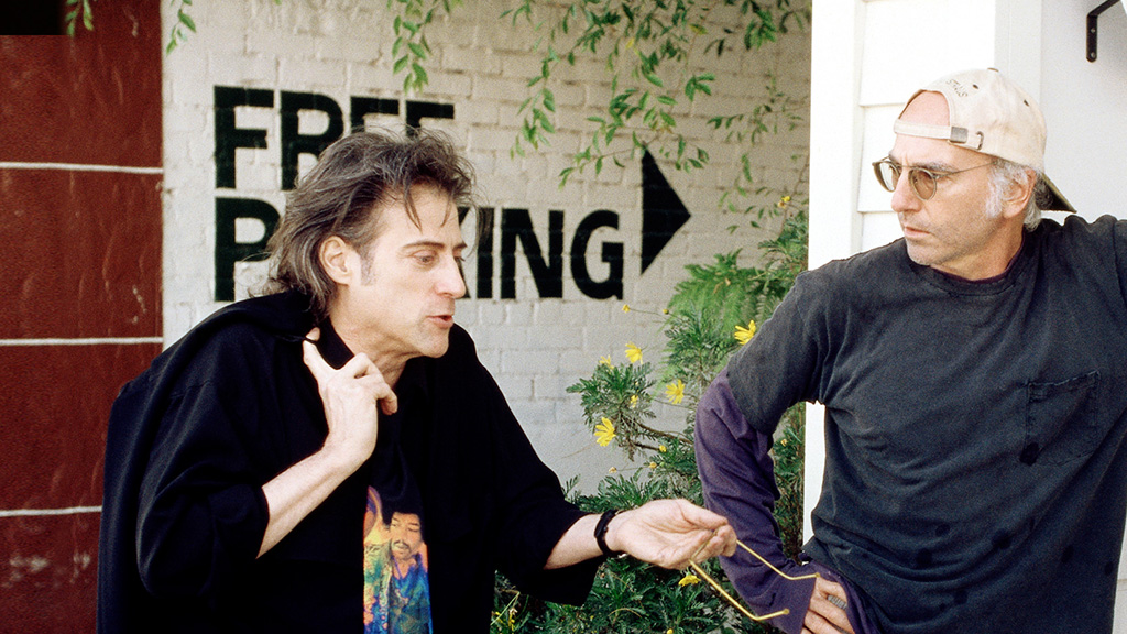 Young Larry David And Richard Lewis