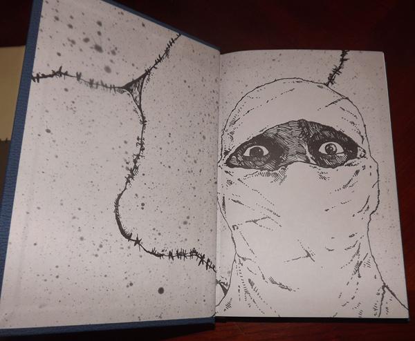 Image result for frankenstein and book art