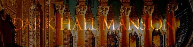 Dark Hall Mansion Banner