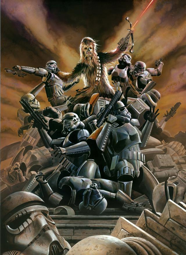 Wookie Rage By Brian Rood