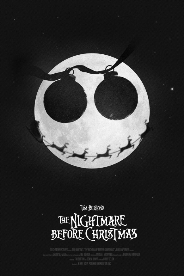 0The Nightmare Before Christmas by Simon C Page