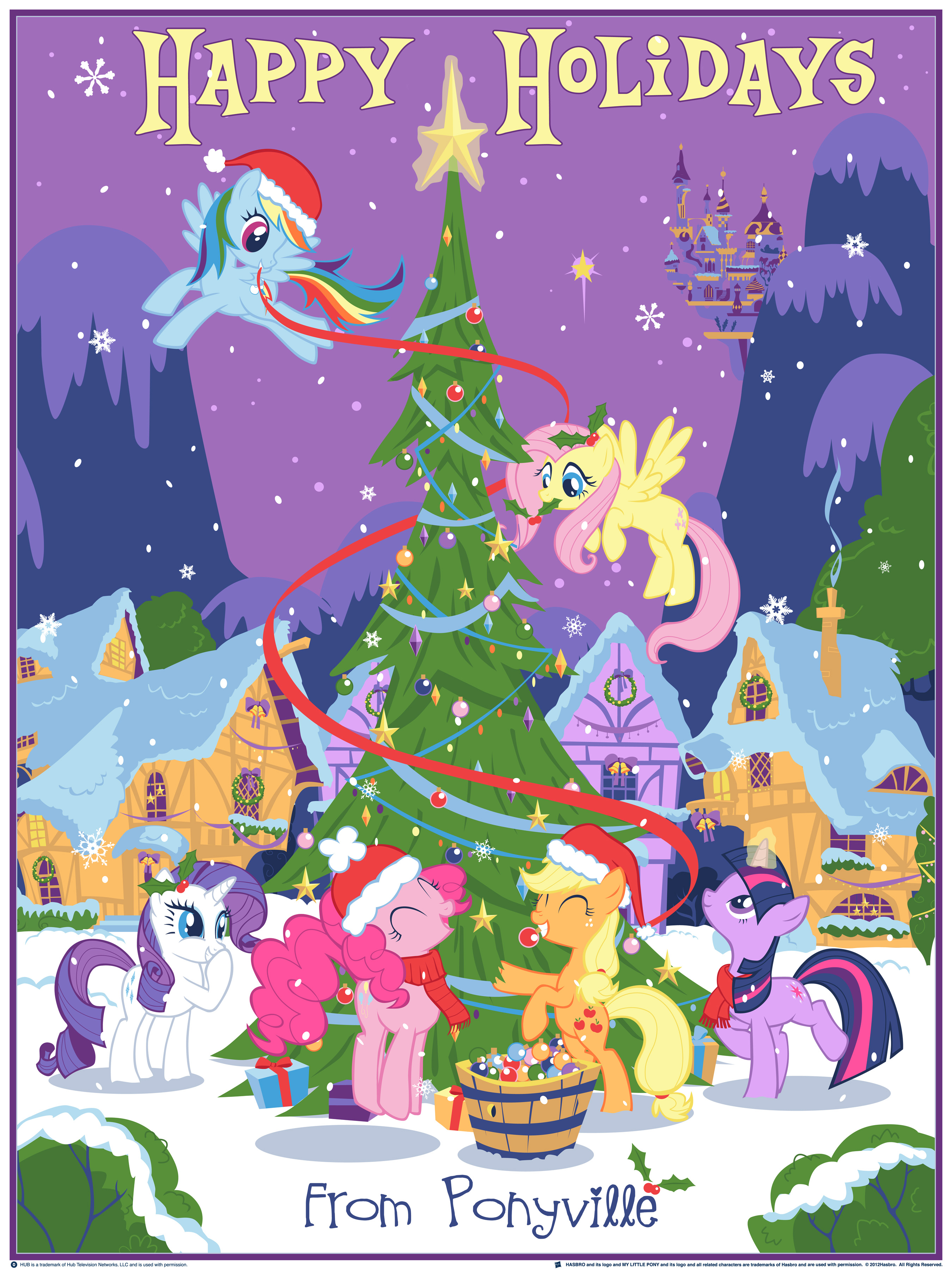 Dhm Mlp Our Pony Christmas Tree Blurppy