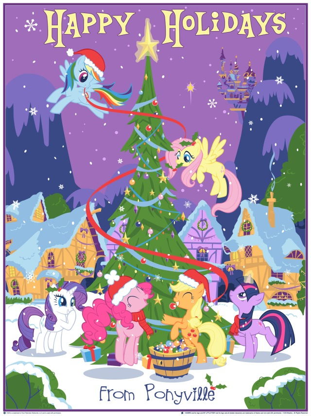 My Little Pony: Friendship Is Magic: Our Pony Christmas Tree