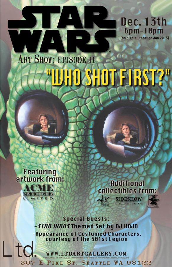 LTD Gallery Star Wars Who Shot First?