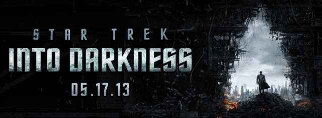 Star Trek into darkness banner