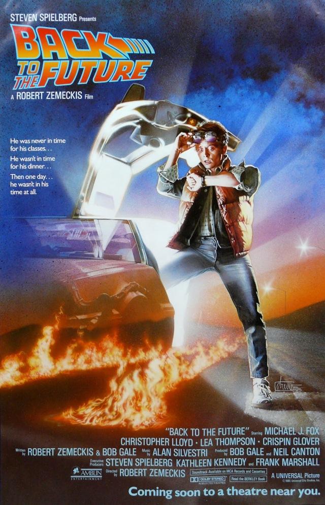 Back To The Future by Drew Struzan