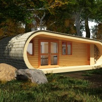 Designed By Blue Forest, I Have Finally Found My New Office Space - The 'eco-Perch'