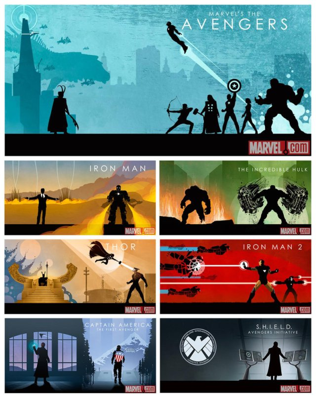 Matt's art for the upcoming Avengers Box Set.