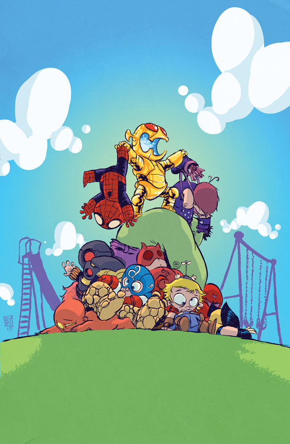 Skottie Young Delivers Yet Another Fantastic Variant Cover This