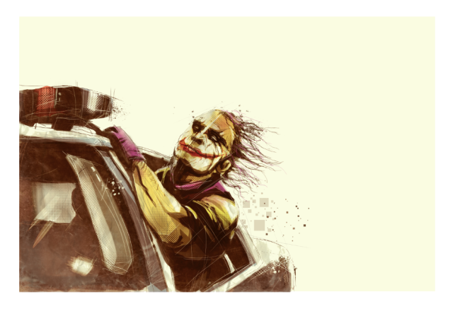 Dark Knight by Marie Bergeron