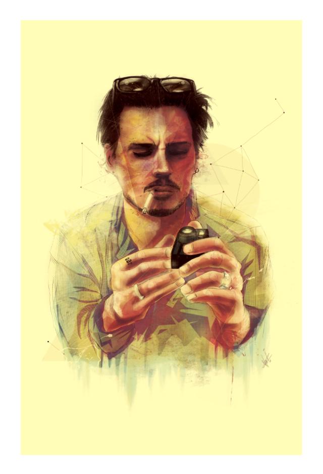 Depp by Marie Bergeron