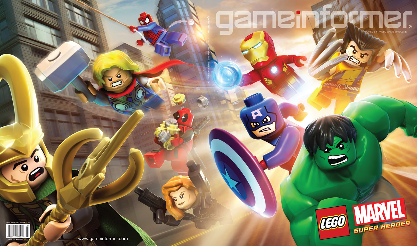 LEGO Marvel Super Heroes Game