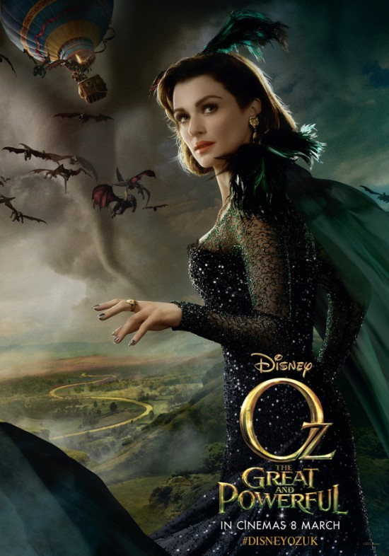 Rachel Weisz as Evanora