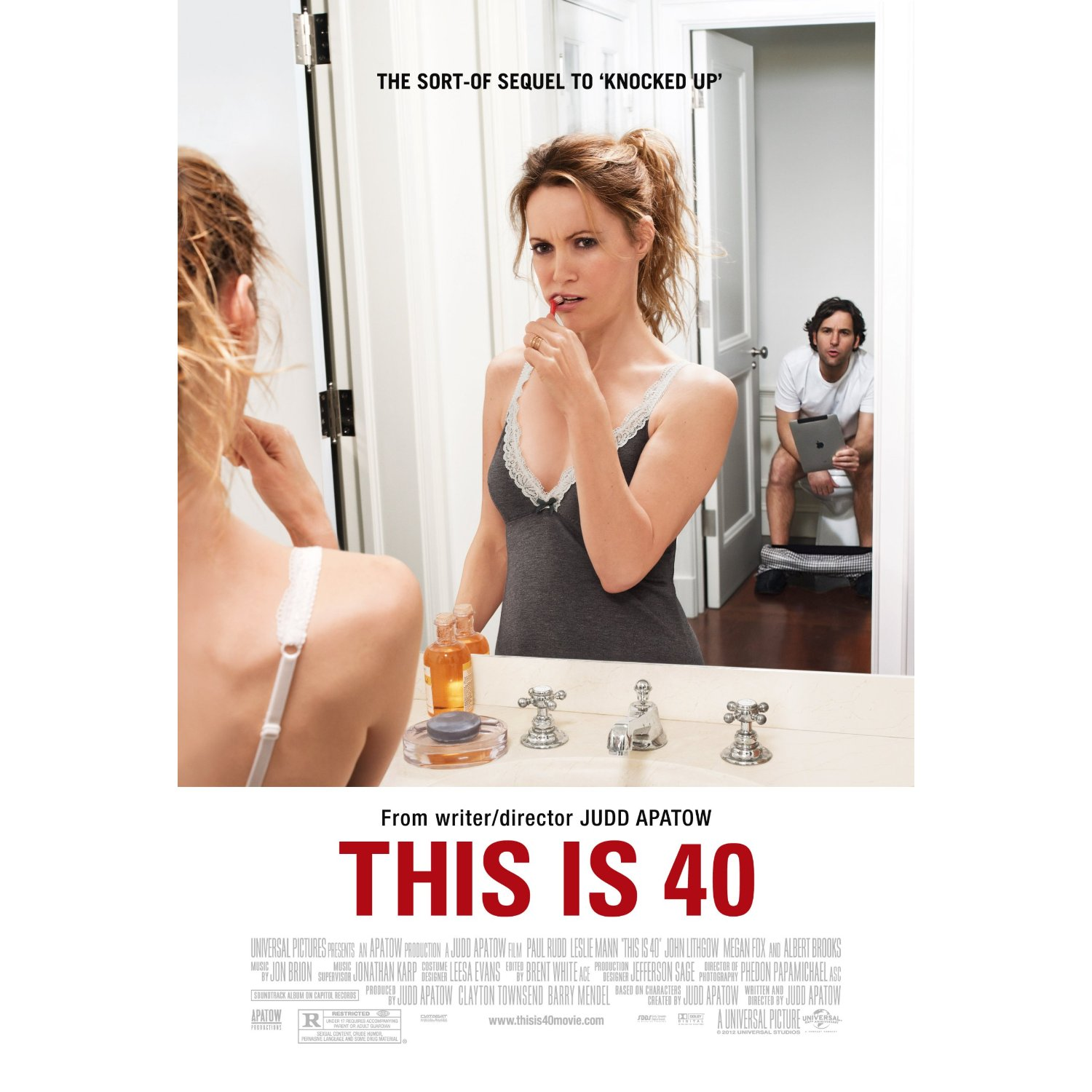 Leslie Mann The Change Up Unrated