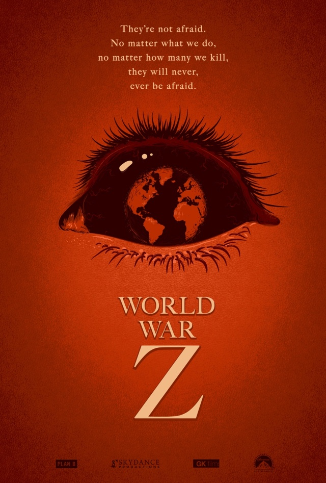 World War Z Concept Poster By Adam Rabalais