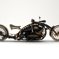 The Black Widow: A Stunning Steampunk Concept Motorcycyle By Russian Designer Mikhail Smolyanov