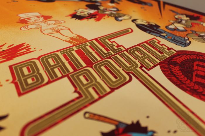 "Today Mondo Is Releasing ""Battle Royale"": A Collab Print By Kevin"