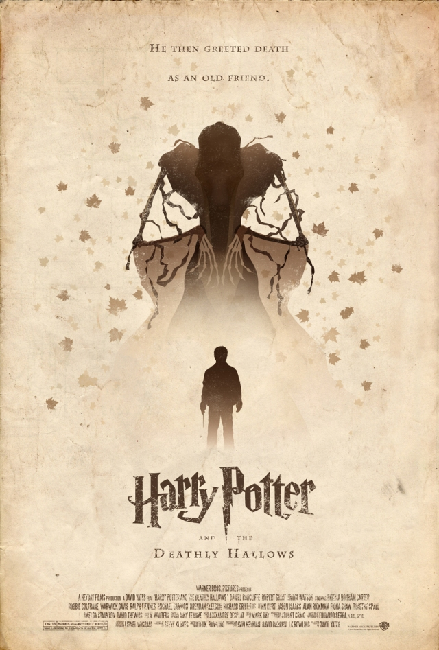 Harry Potter and the Deathly Hallows by Adam Rabalais